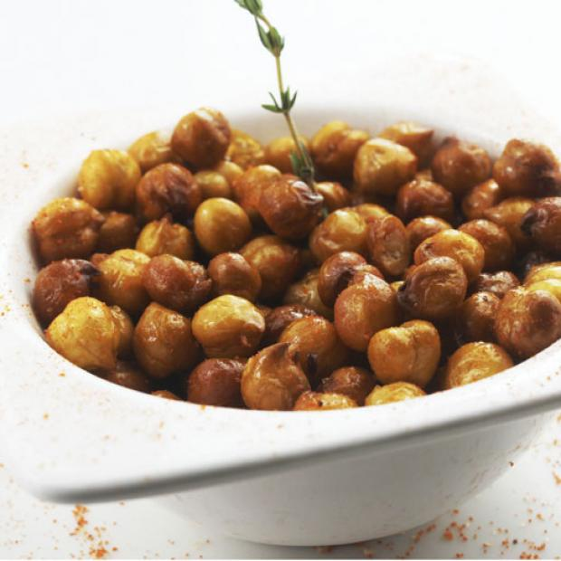 receta Garbanzos fritos